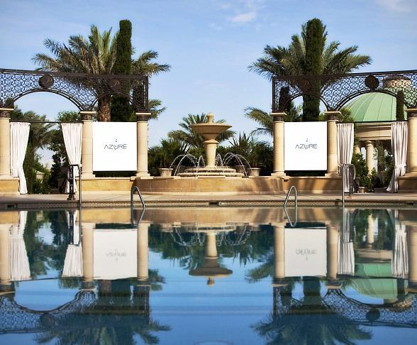 Azure Luxury Pool at The Palazzo Opens for 2011 Season on March 19