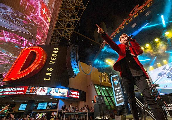 Pop 2000 Superstars Take Over Fremont Street Experience During Downtown Rocks