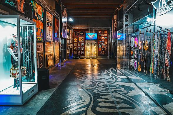 """Aerosmith Opens Their Vegas Museum to Public at Park MGM in Time for Second Leg of Wildly Successful Residency """"Aerosmith: Deuces Are Wild"""" Starting June 19"""