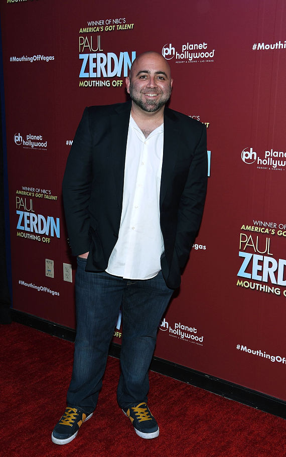 """""""Ace of Cakes"""" Star Duff Goldman at Opening Night of PAUL ZERDIN MOUTHING OFF at Planet Hollywood Resort & Casino"""