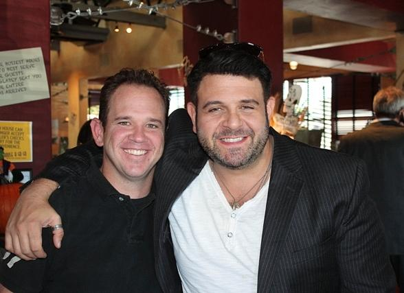 Travel Channel's Adam Richman Enjoys Hash House A Go Go