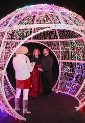 Montana Couple Tie the Knot at Glittering Lights at Las Vegas Motor Speedway on Christmas Day