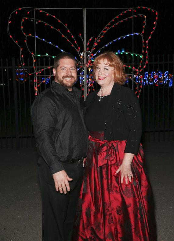 Adam and Kristi Nolan at Glittering Lights