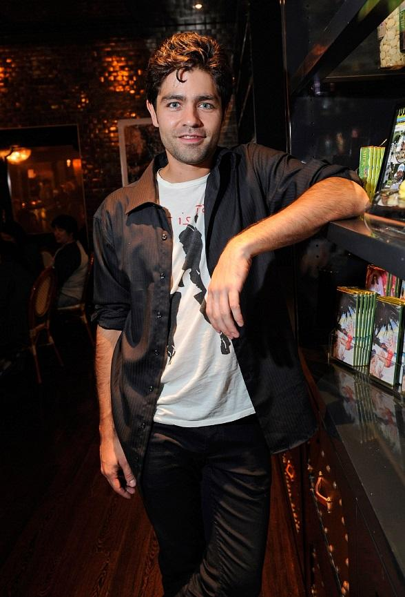 Adrian Grenier at Sugar Factory at Paris Las Vegas