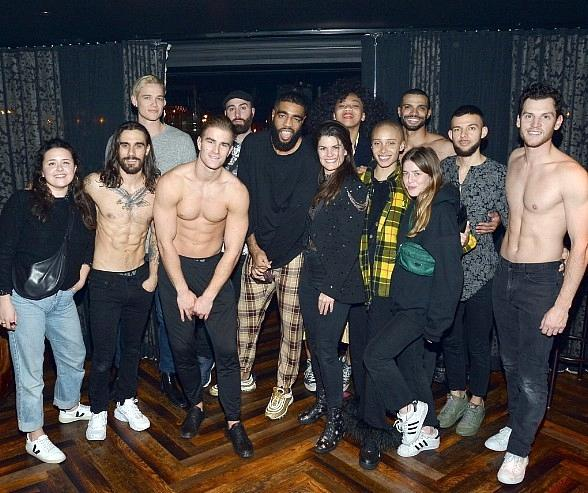 "Adwoa Aboah Attends ""Magic Mike Live"" at Hard Rock Hotel & Casino in Las Vegas"