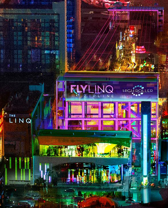 "Caesars Entertainment to Build ""Fly LINQ"" at The LINQ Promenade, the First Zipline Experience on the Las Vegas Strip"