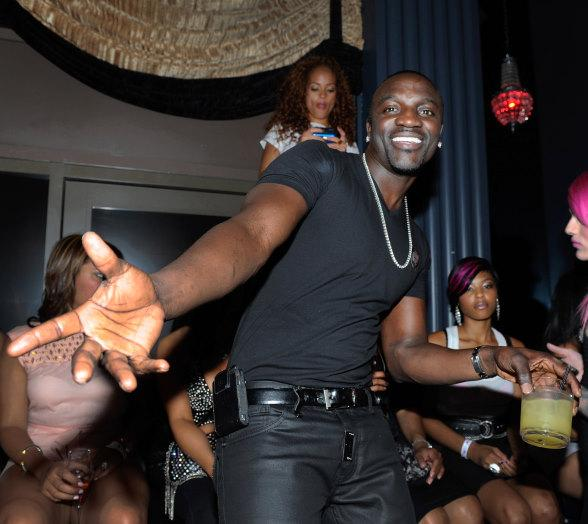 Akon at Chateau Nightclub & Gardens at Paris Las Vegas