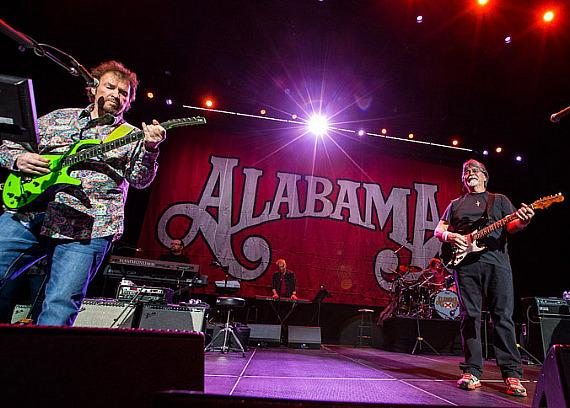 "Alabama kicks off ""Boots on the Boulevard"" at The Cosmopolitan of Las Vegas"
