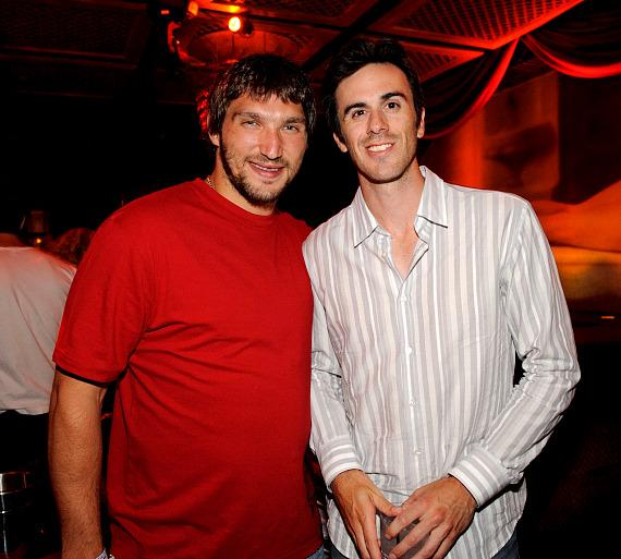 Alex Ovechkin and Ryan Miller at LAVO