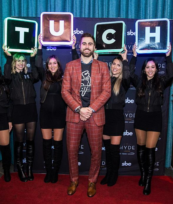"""Alex Tuch Hosts Post-Game Party at Hyde Lounge at T-Mobile Arena Alongside Wayne """"Big D"""" Danielson"""