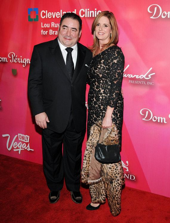 Emeril Lagasse and wife Alden