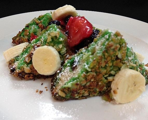 Almond Crusted French Toast at LAVO Brunch