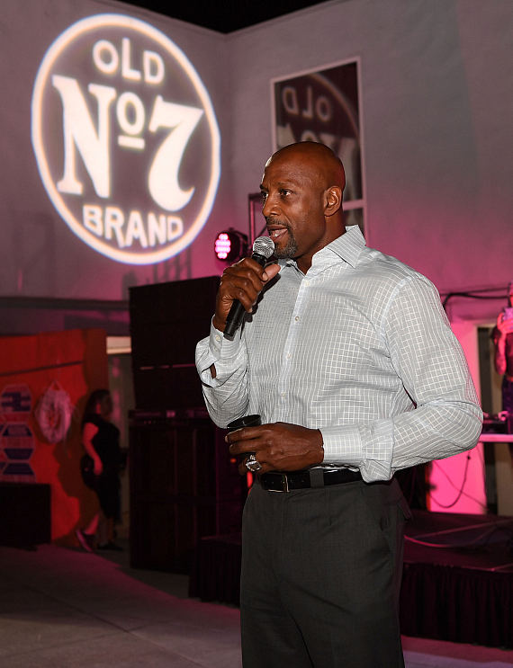 NBA Legend Alonso Mourning at Jack Daniel's House No. 7 in Las Vegas