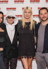 "Corey Feldman, Amazing Johnathan, Ricardo Laguna, Marty Jannetty, Dan Sperry at ""Comedy Daredevil"" Grand Opening at Hooters Casino Hotel Las Vegas"