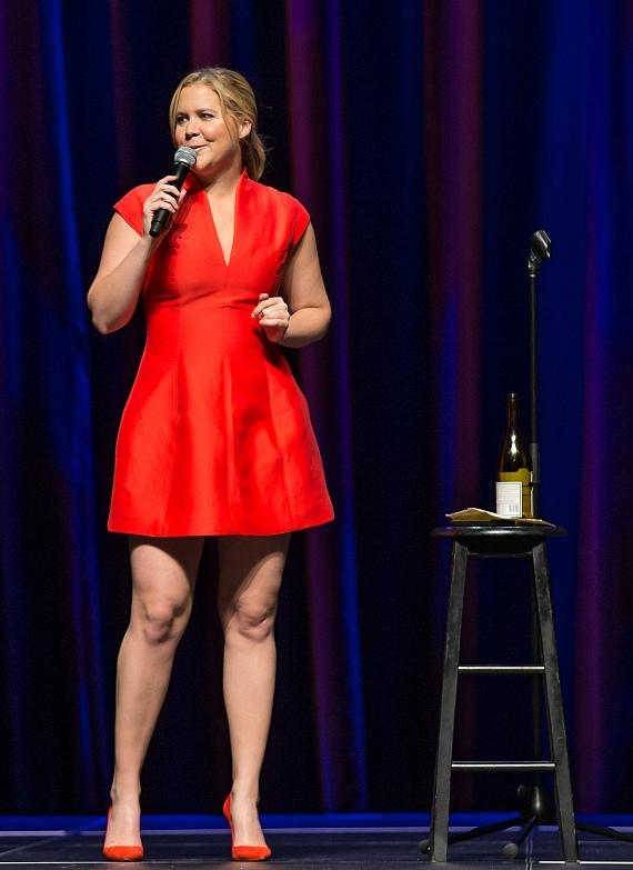 Amy Schumer performs at The Chelsea inside The Cosmopolitan of Las Vegas