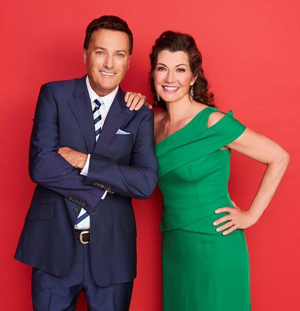GRAMMY Award-Winning Artists Amy Grant and Michael W. Smith Unite for 2016 Christmas Tour with a stop at MGM Grand Garden Arena Nov. 12