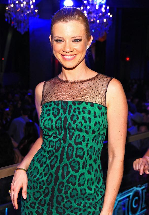Actress Amy Smart Celebrates Her Birthday at Chateau Nightclub