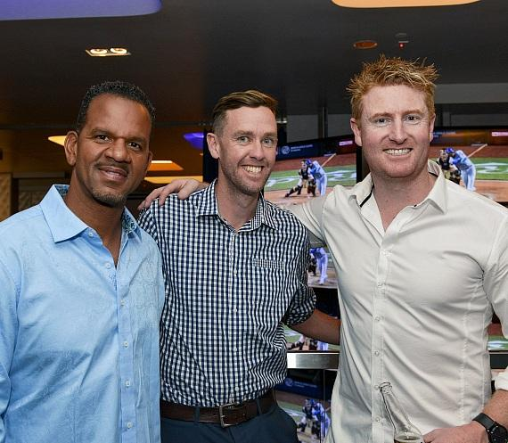 Andre Reed and friends