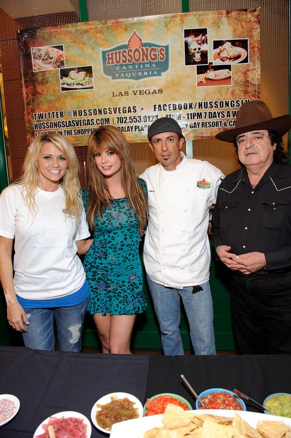 Angel Porrino, Laura Croft, Chef Noe Alcala and Tito