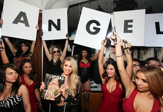 Angel Porrino hosts IN VEGAS Magazine launch party at Hyde Bellagio