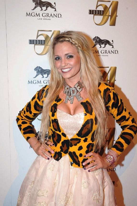 Angel Porrino on red carpet at Nitro Circus after-party, Studio 54 Las Vegas