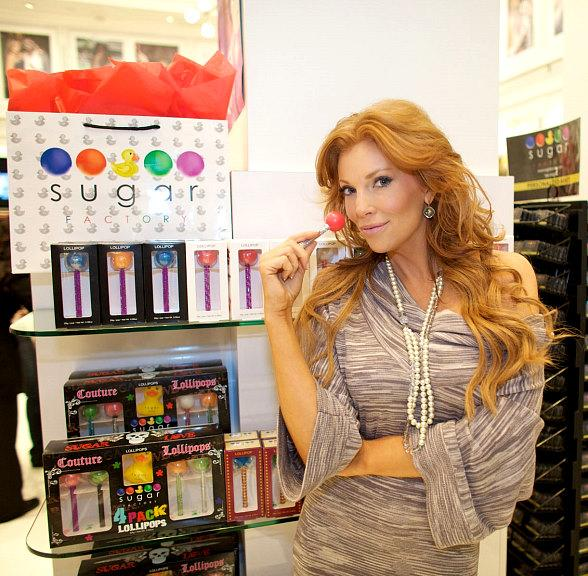 Fantasy Star Angelica Bridges Treats Co-Stars to Sugar Factory Sweets