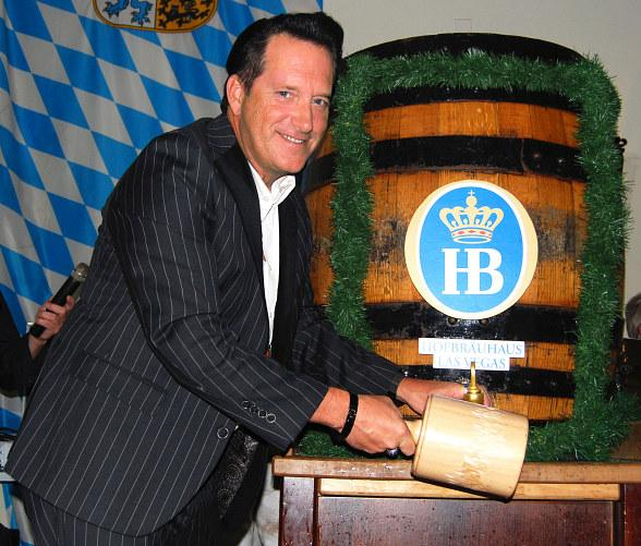 Anthony Cools Celebrates Oktoberfest at Hofbräuhaus Las Vegas