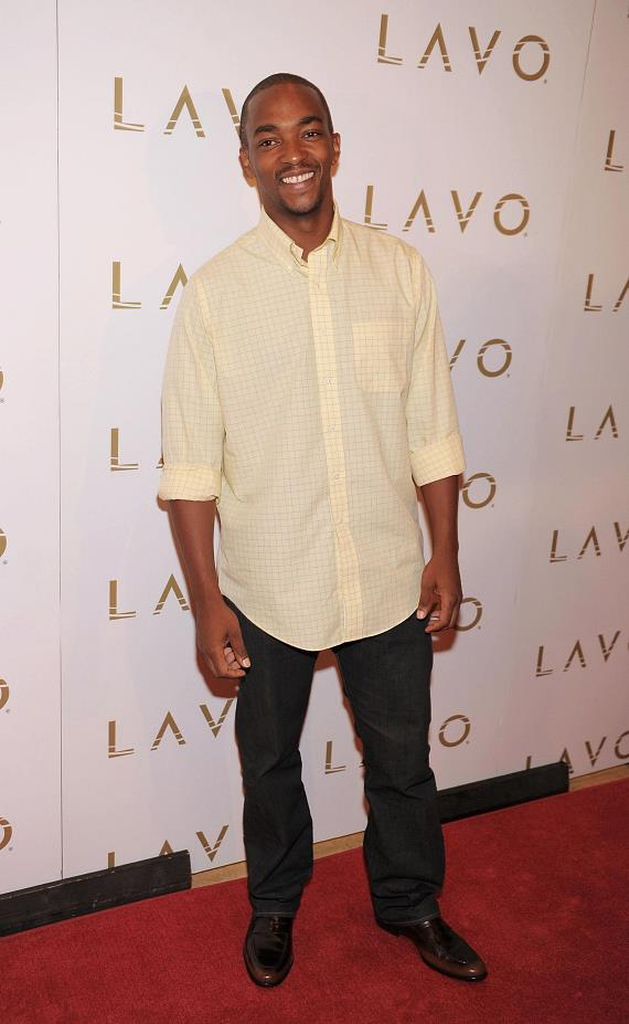 Anthony Mackie at LAVO