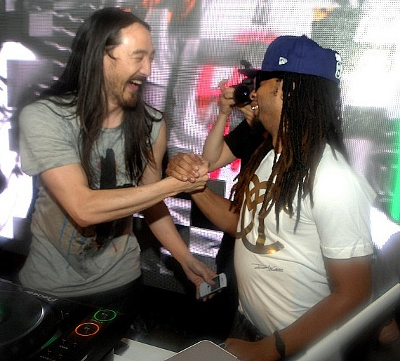 Steve Aoki and Lil Jon