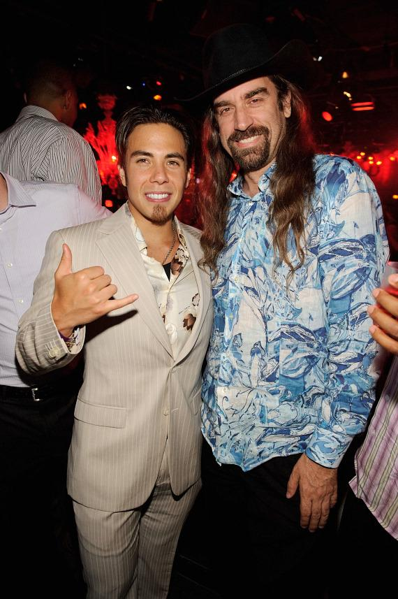 Apolo Ohno and Chris Ferguson at TAO