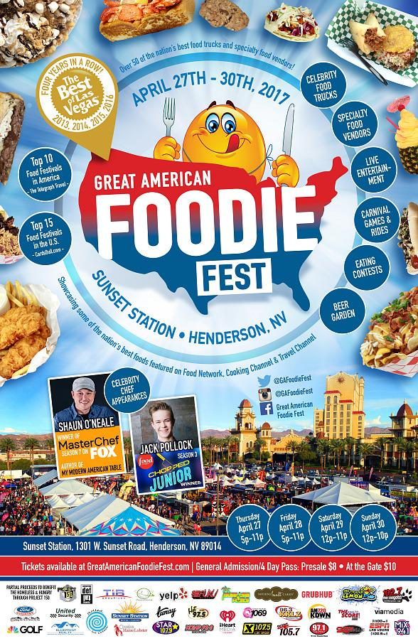 Great American Foodie Fest Returns to Sunset Station Casino April 27-30