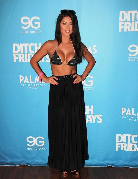 Arianny Celeste at Palms Pool & Bungalows