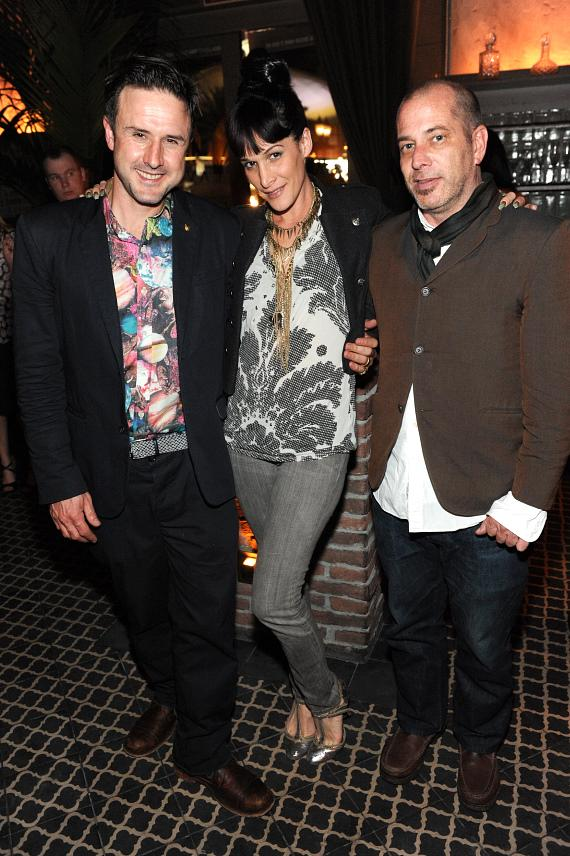 Arquette, Bree Cohen and David Bedwell at LAVO