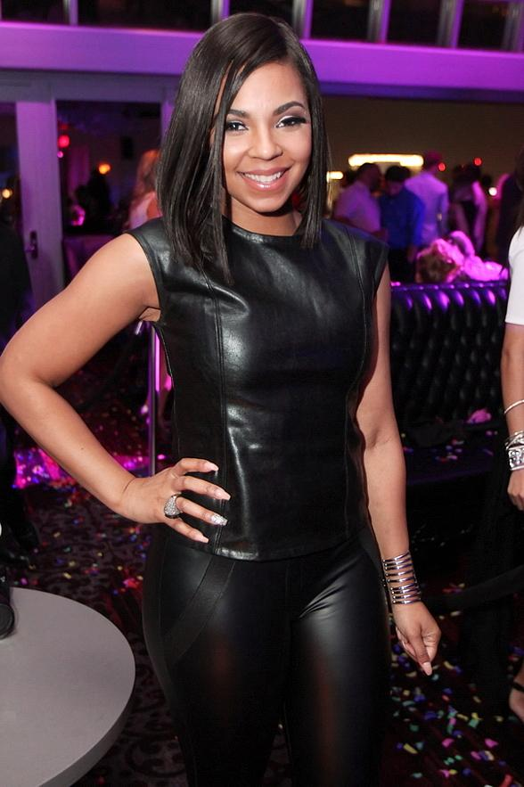 Ashanti Celebrates Big Soul Train Award Win at Ghostbar inside Palms Casino Resort