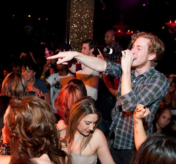 Asher Roth performs at TAO