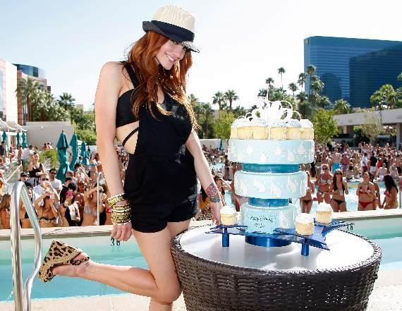 Ashlee Simpson-Wentz Celebrates Birthday at WET REPUBLIC