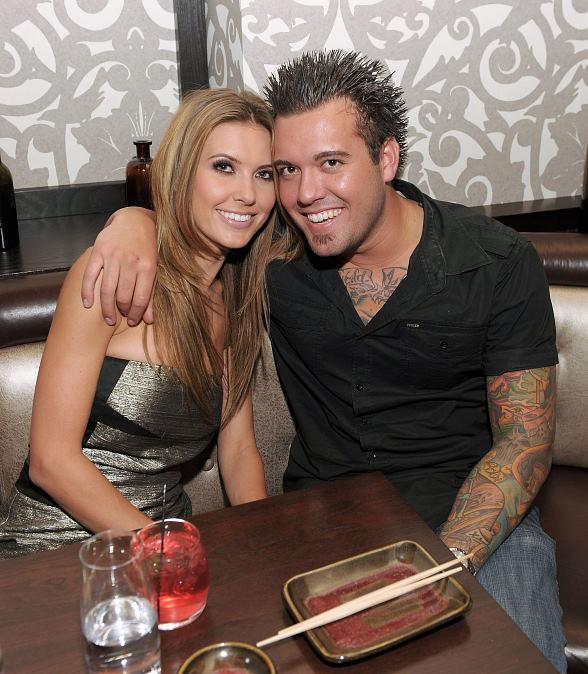 Audrina Patridge and brother Mark Patridge at Social House in CityCenter