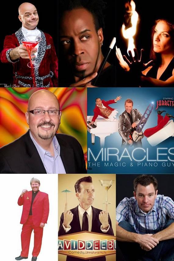 Night of Wonders features Magic, Comedy, Illusion, Hypnosis, Juggling, Freaks and Amazement at the Orleans Aug 26