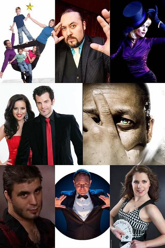 Night of Wonders features Magic, Comedy, Illusion, Hypnosis, Juggling, Freaks and Amazement at the Orleans Aug 28