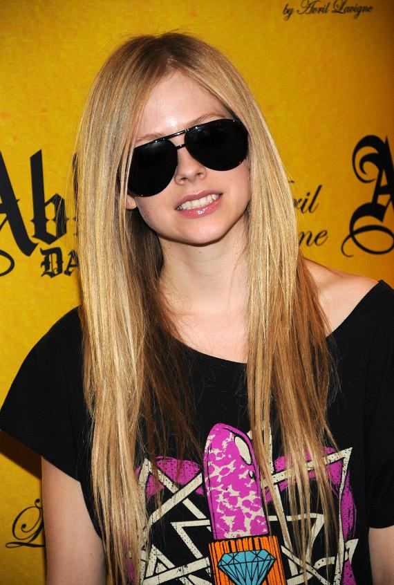 Avril Lavigne promotes her Abbey Dawn clothing line at MAGIC in Las Vegas