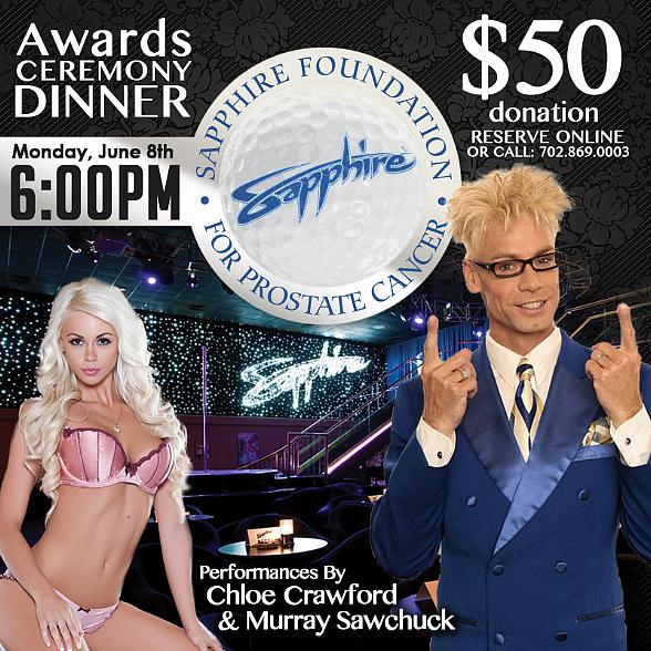 Celebrity Magician Murray SawChuck and wife, Model/Dancer Chloe Crawford, to Perform at Banquet for Sapphire Foundation for Prostate Cancer's Annual Golf Tournament June 8