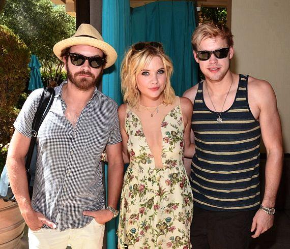DJ MomJeans (Danny Masterson)  with Ashley Benson and Chord Overstreet