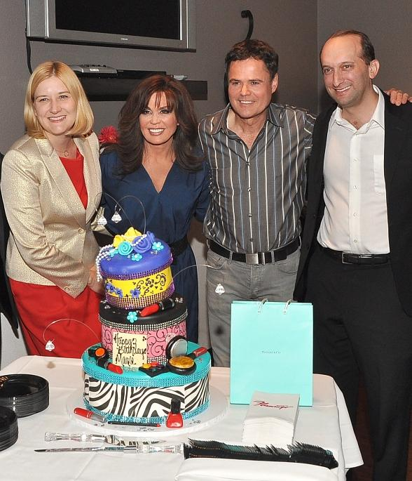 Marie Osmond Celebrates Birthday at Flamingo Las Vegas