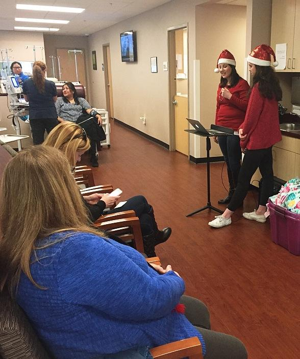 Christmas Carolers Visit Nevada's (CCCN) Henderson Treatment Center