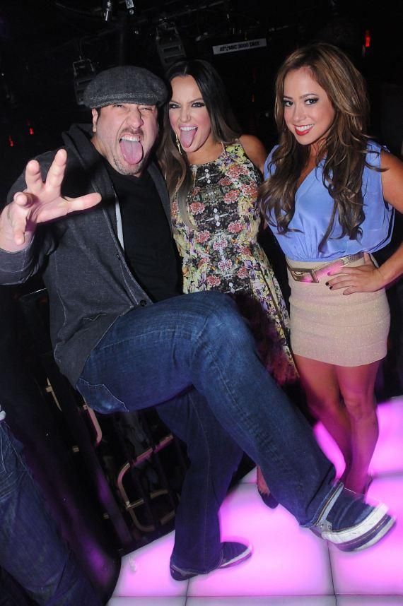 Dancing With The Stars: Live in Las Vegas cast-members Joey Fatone and Lacey Schwimmer