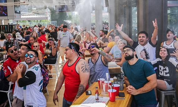 Beer Park Viewing Party