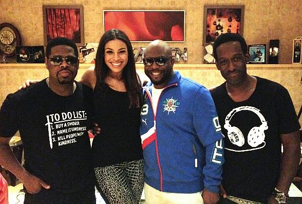 Jordin Sparks Attended Boyz II Men at The Mirage in Las Vegas