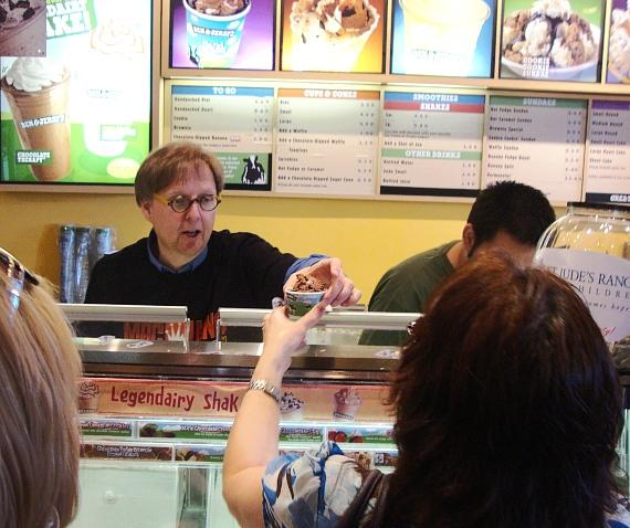 Magician Mac King makes Ben & Jerry's ice cream disappear