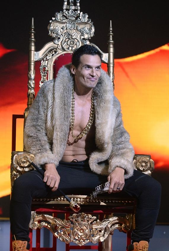Antonio Sabato Jr performs with Chippendales at Rio All-Suite Hotel & Casino