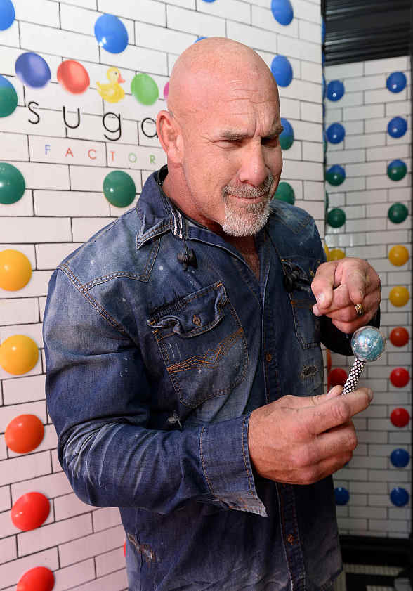 WWE/WCW Pro Wrestler Bill Goldberg Hosts a Meet and Greet and Sugar Factory Las Vegas